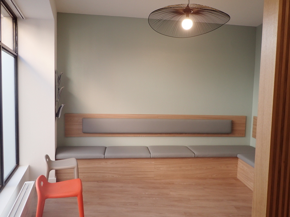 Salle d'attente - Cabinet d'Orthodontie Dr BRIDEL